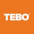 Logotyp för leverantören TEBO